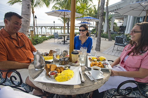 Key West restaurant places to eat people enjoying a meal